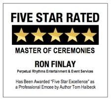 Ron Finlay - 5-Star Rated Wedding MC