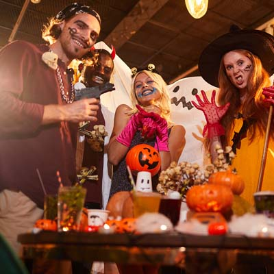Perpetual Rhythms :: Types of Party DJ Services - Halloween Party DJ