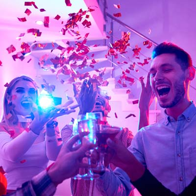 Perpetual Rhythms :: Types of Party DJ Services - New Year's Eve Party DJ